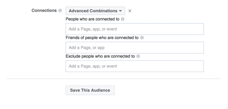 Facebook Targeting Connections
